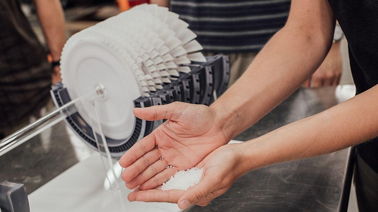 Le laboratoire d'Alphabet a élaboré un prototype reposant sur des matériaux plus abordables que ceux qui composent les batteries lithium-on comme le sel, l'acier, l'antigel et l'air.