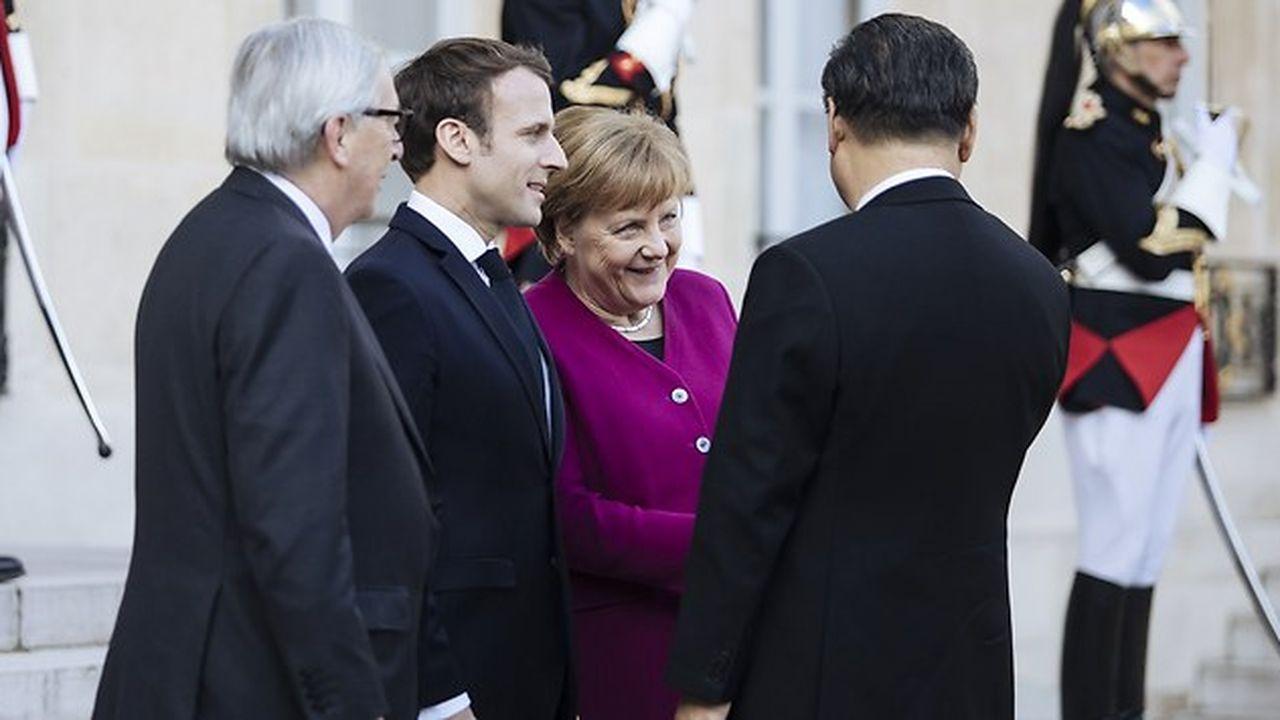 La Chine, l'Europe et l'inconséquence allemande