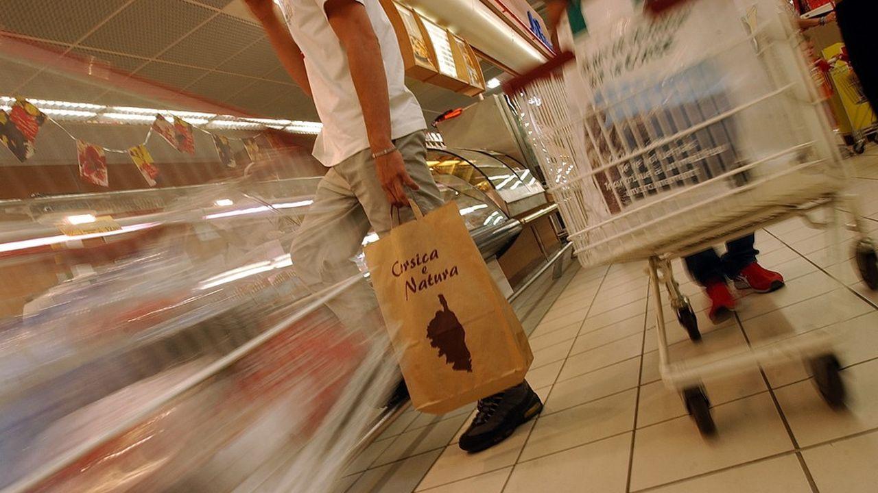 Plus de 200 produits, dont les pâtes, les légumes, le sucre, le savon ou les rasoirs jetables, sont concernés par la charte corse sur les prix bas.