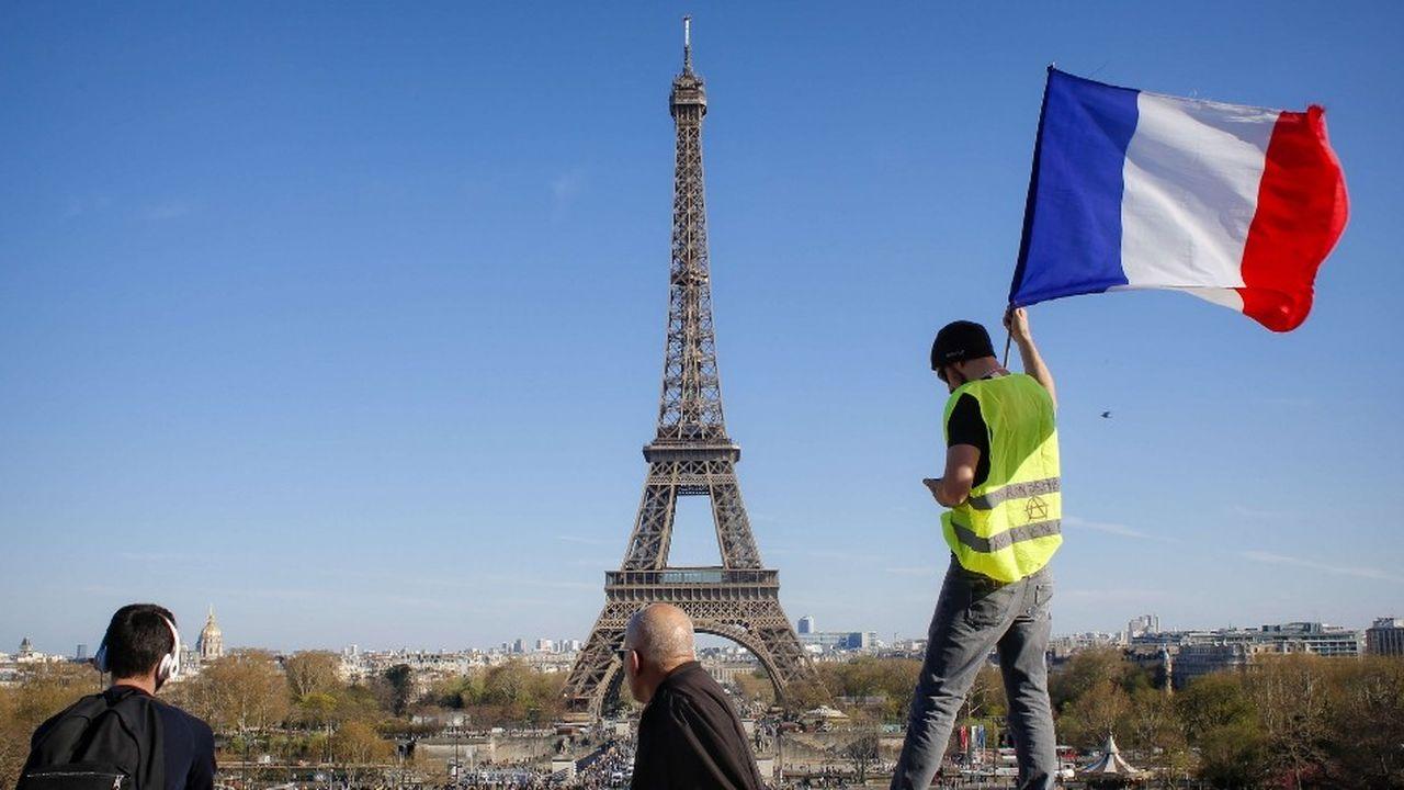 Samedi à Paris, le défilé s'est déroulé dans une ambiance bon enfant.