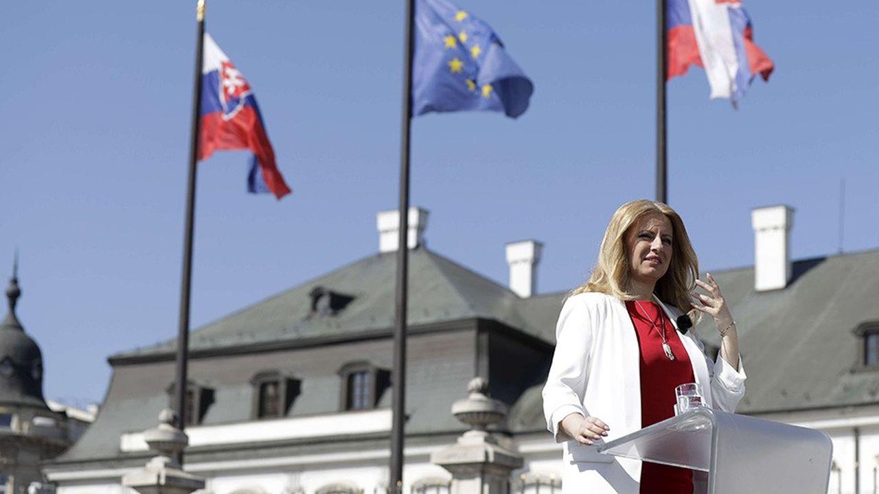 Zuzana Caputova, avocate de 45 ans, a été élue présidente de Slovaquie samedi avec 58,40% des voix.