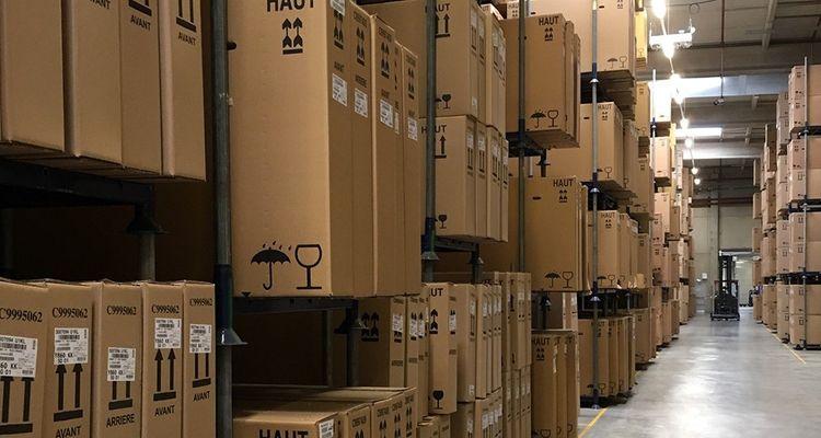 Les 12.000 mètres carrés de l'entrepôt de MFC, à Machecoul, stockent 45.000 vélos en instance d'être livrés partout en France.