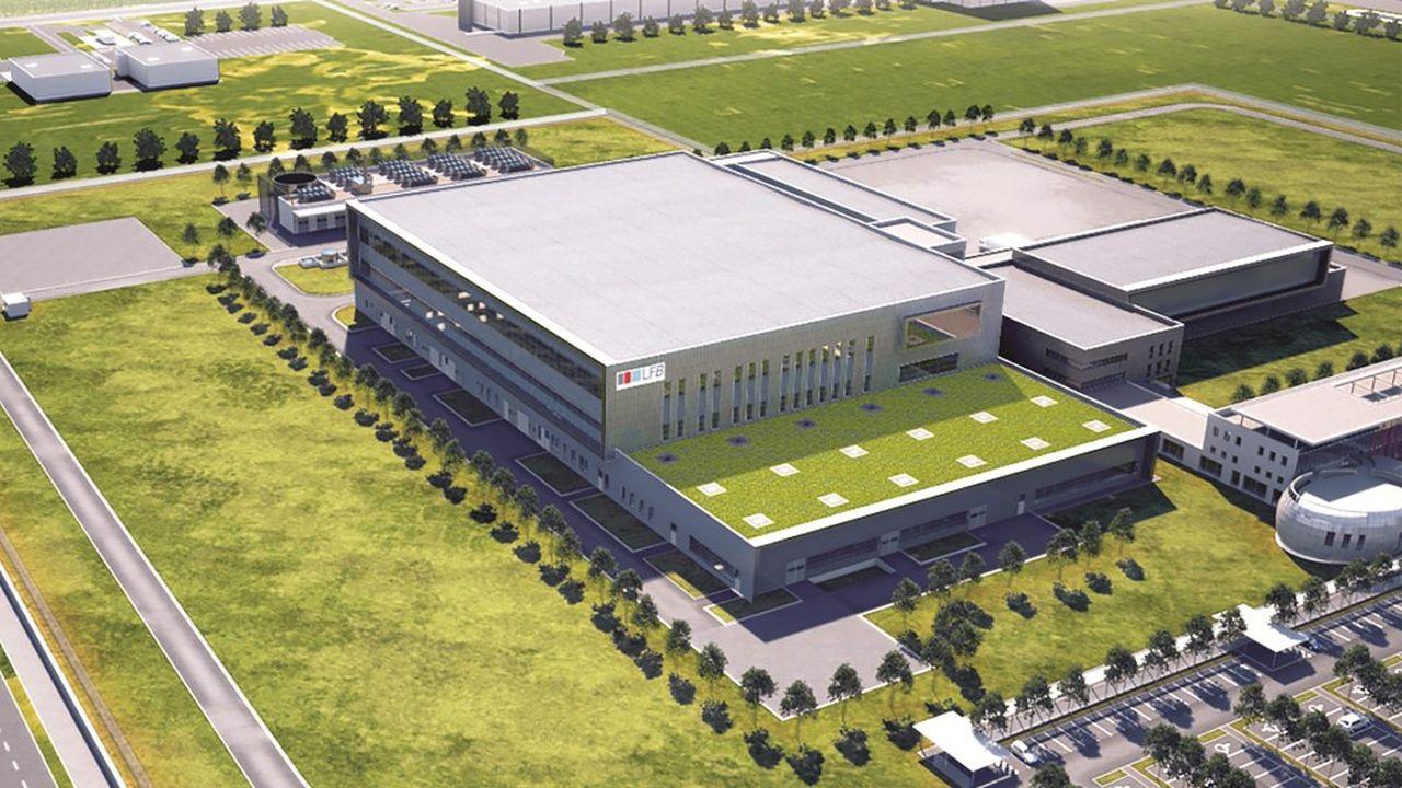 Le futur site du LFB à Arras entrera en production en 2024 et conduira à la création de 250 emplois.