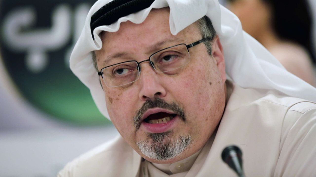 Jamal Khashoggi, journaliste saoudien ici photographié en 2014, a été tuéet démembré le 2octobre 2018 par un commando saoudien.