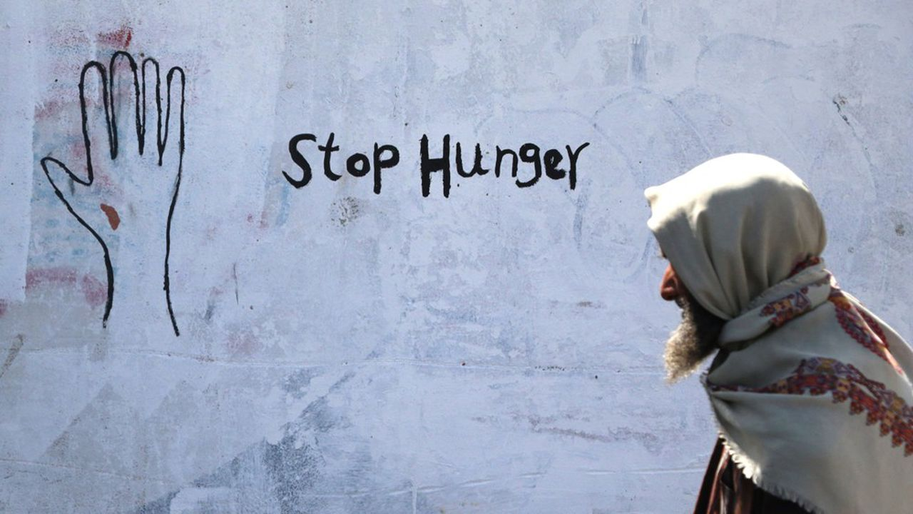 Les guerres et les conflits, comme à Sanaa au Yémen (photo) où la famine sévit depuis 4 ans, sont la première cause d'insécurité alimentaire.