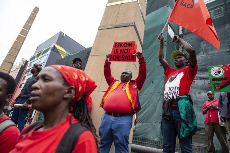Manifestation le 13 février pour dénoncer les licenciements et la possible privatisation d'Eskom.