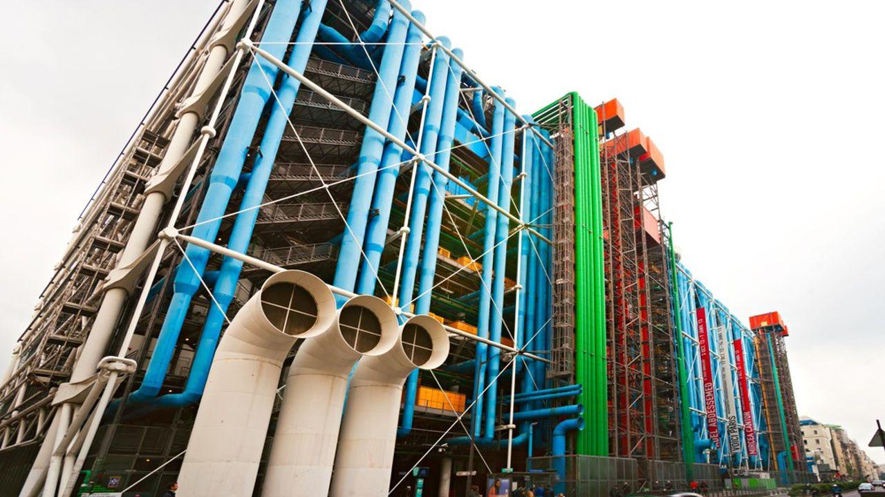 Le centre pompidou est situé au coeur de Paris