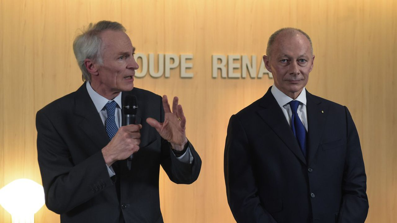 Depuis fin janvier, le duo Jean-Dominique Senard- Thierry Bolloré mène la barque chez Renault.