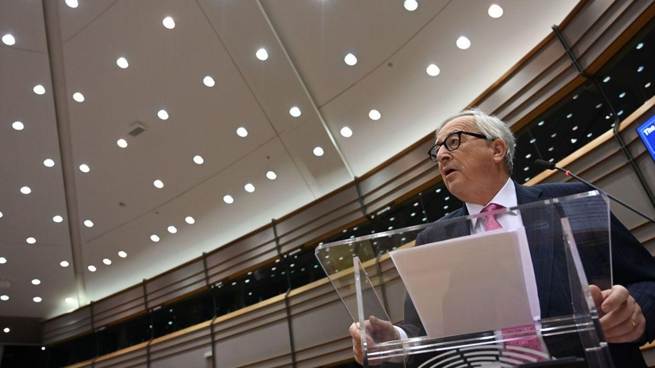 Pour le président de la Commission européenne, Jean-Claude Juncker, le scénario d'un Brexit sans accord de sortie devient très «probable».