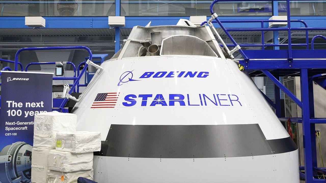 La capsule Starliner de Boeing doit être l'un des deuxmoyens d'envoyer des astronautes américains dans l'espace.