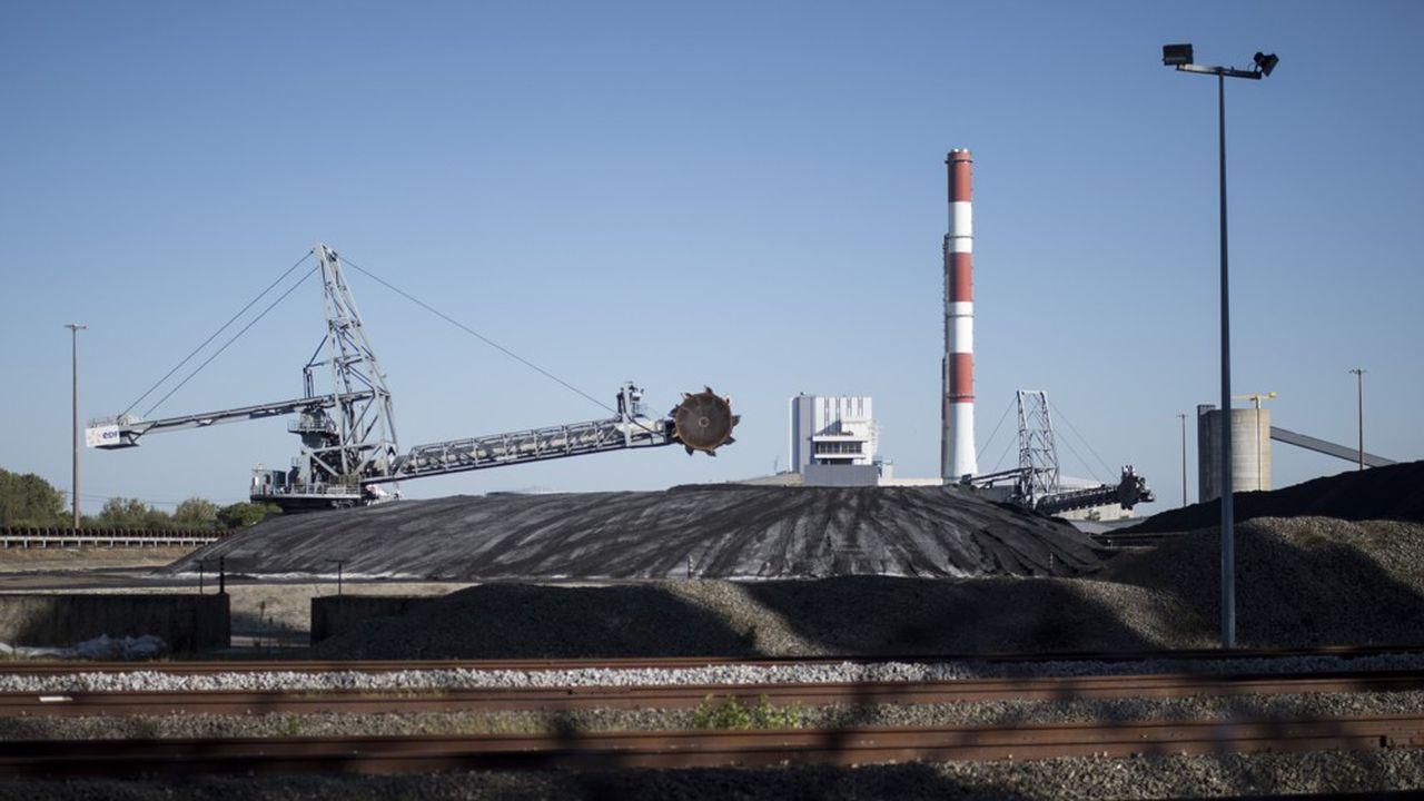 A coal fired power plant is seen in Cordemais, western France on September 27 2018.//SALOM-GOMIS_co002/Credit: SEBASTIEN SALOM GOMIS/SIPA/1809281117