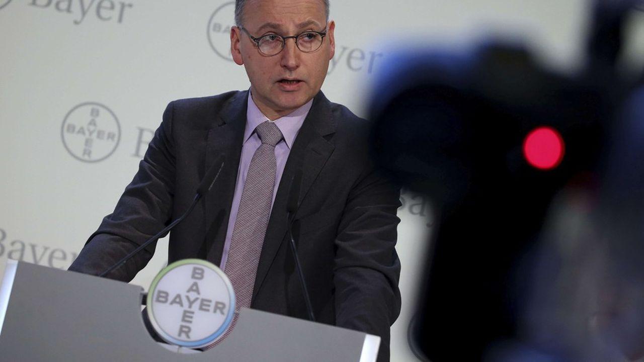 Sur la base de ses trois piliers, l'agriculture, la pharmacie et les produits de santé grand public, Bayer a un bel avenir selon son dirigeant Werner Baumann qui promet de le démontrer lors de l'assemblée générale du groupe le 26avril.