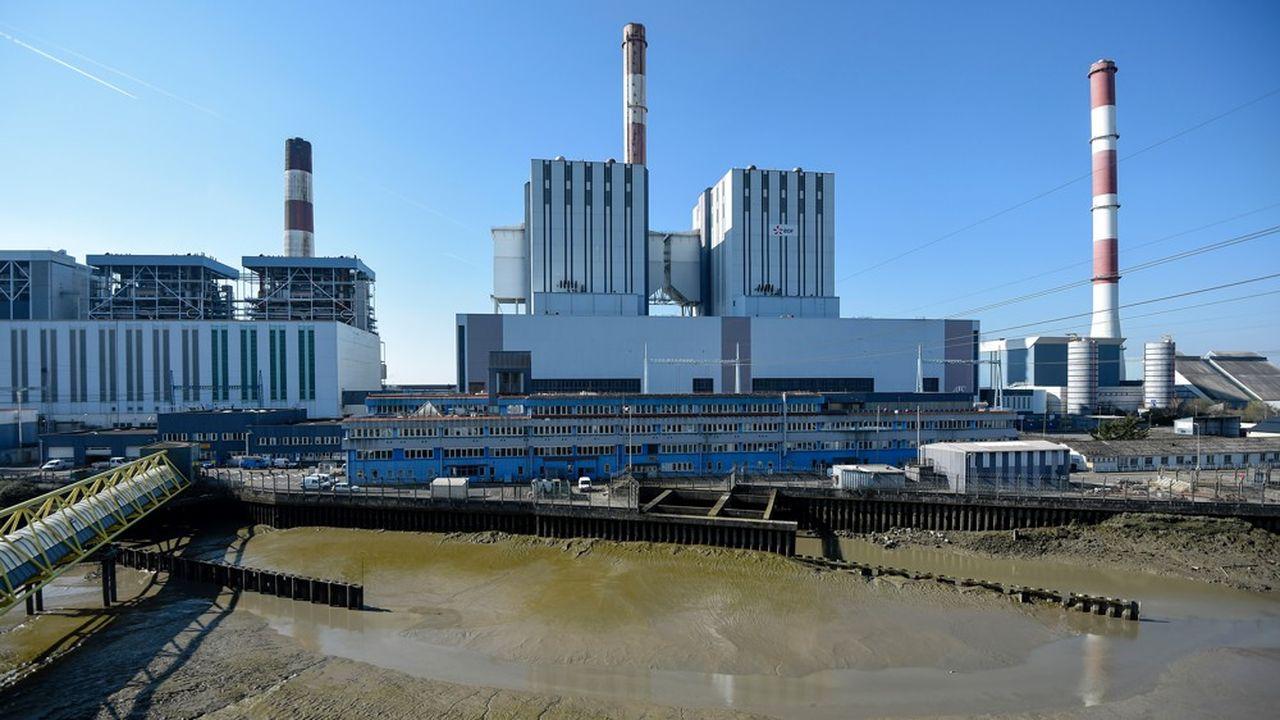La centrale EDF de Cordemais.