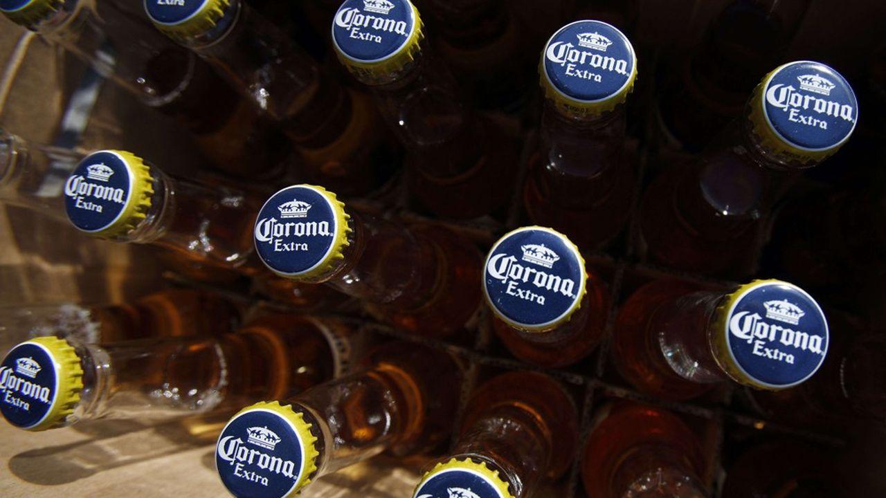 Le propriétaire des bières Corona va céder ses vins et spiritueux les plus abordables à E. & J.Gallo Winery.