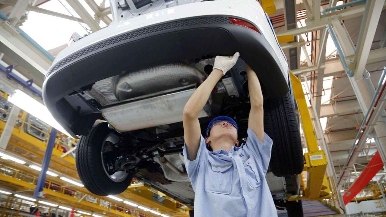 Ford a accusé un repli de 37% de ses ventes l'an passé sur le marché chinois