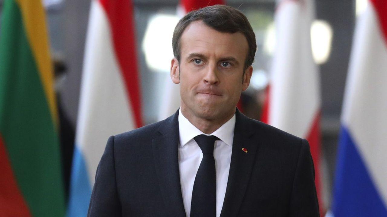 Après avoir regagné 8 points au cours des trois premiers mois de l'année, Emmanuel Macron reperd 3 points dans le dernier baromètre Elabe pour «Les Echos» et Radio Classique. Les Français sont inquiets sur ce qui sortira du grand débat.