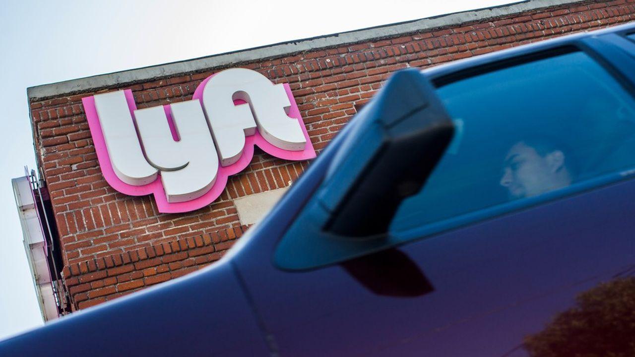 le groupe Lyft, un concurrent d'Uber, vient de faire son entrée à Wall Street