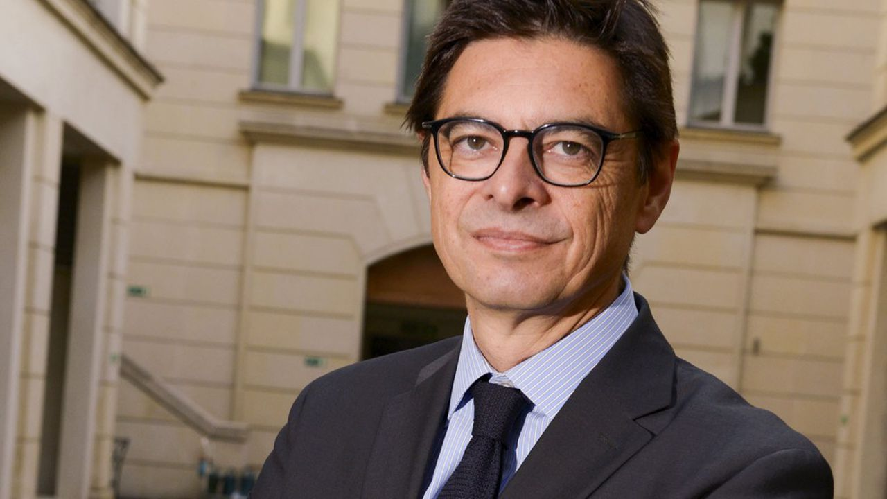 Eric Falque, président de BearingPoint en France.