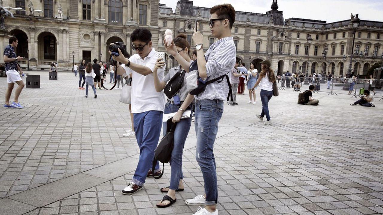 En dix ans, de 2008 à 2018, le nombre de touristes chinois a été multiplié par 3,7 en Ile-de-France.
