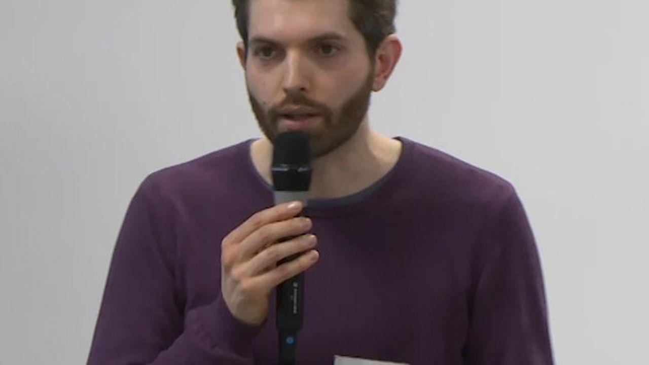 Julien Falgas, chercheur associé au Centre de recherche sur les médiations (Crem) à l'université de Lorraine et initiateur du projet Needle.