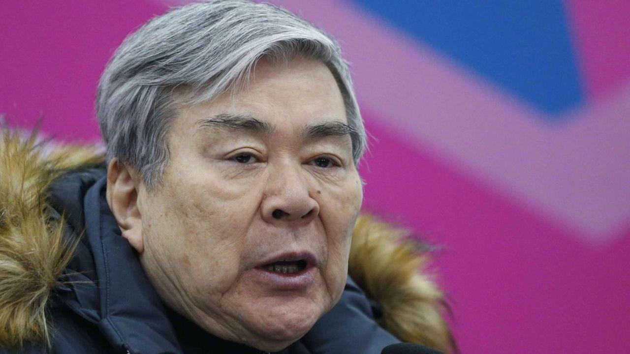 Cho Yang-ho avait été évincé du conseil d'administration de Korean Air en mars, créant un précédent unique dans le pays