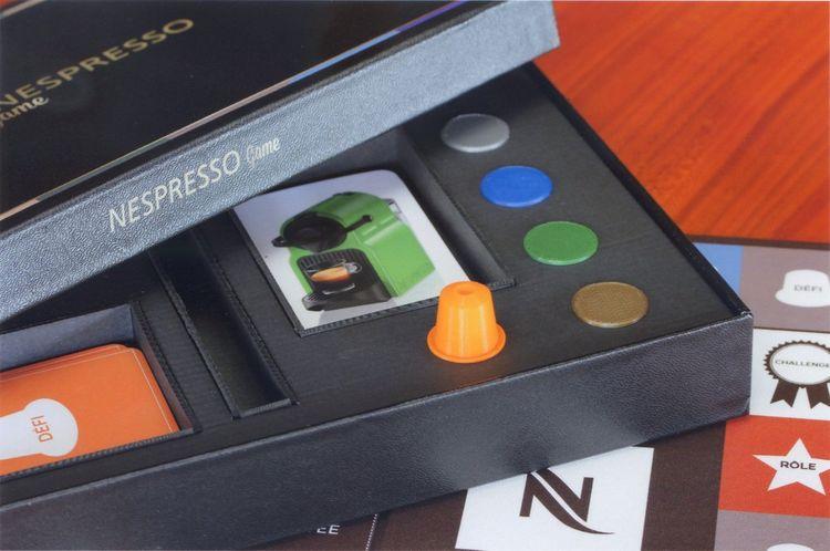 Wogamat a réalisé un jeu de l'oie pour Nespresso.