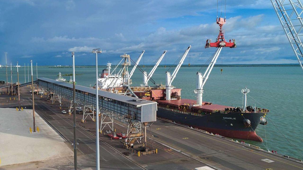 Depuis 2015, le port de Darwin, au nord de l'Australie, est géré par le consortium chinoisShandong Landbridge.