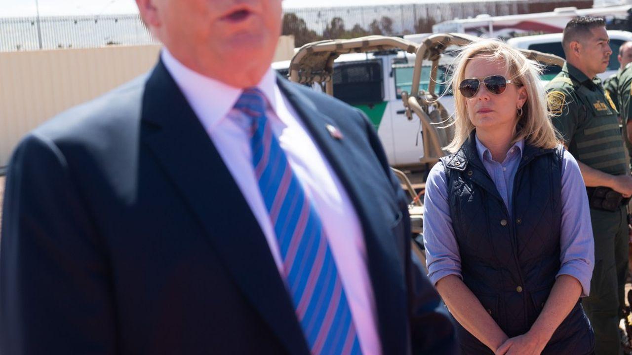 Kirstjen Nielsen a préféré démissionner de son poste de secrétaire à la sécurité intérieure, alors que Donald Trump réorganise son équipe sur ce dossier.