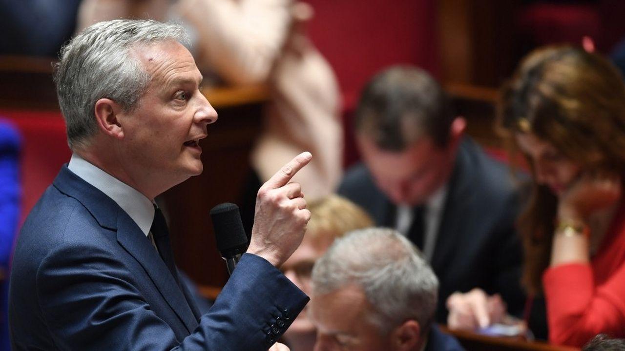 Le ministre de l'Economie a aussi rappelé que la taxe se voulait temporaire, en l'attente d'une réglementation internationale préparée à l'OCDE