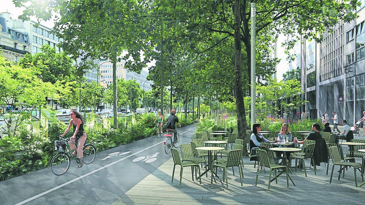 Le chantier de la transformation de l'avenue à Neuilly est évalué à près de 59millions d'euros.