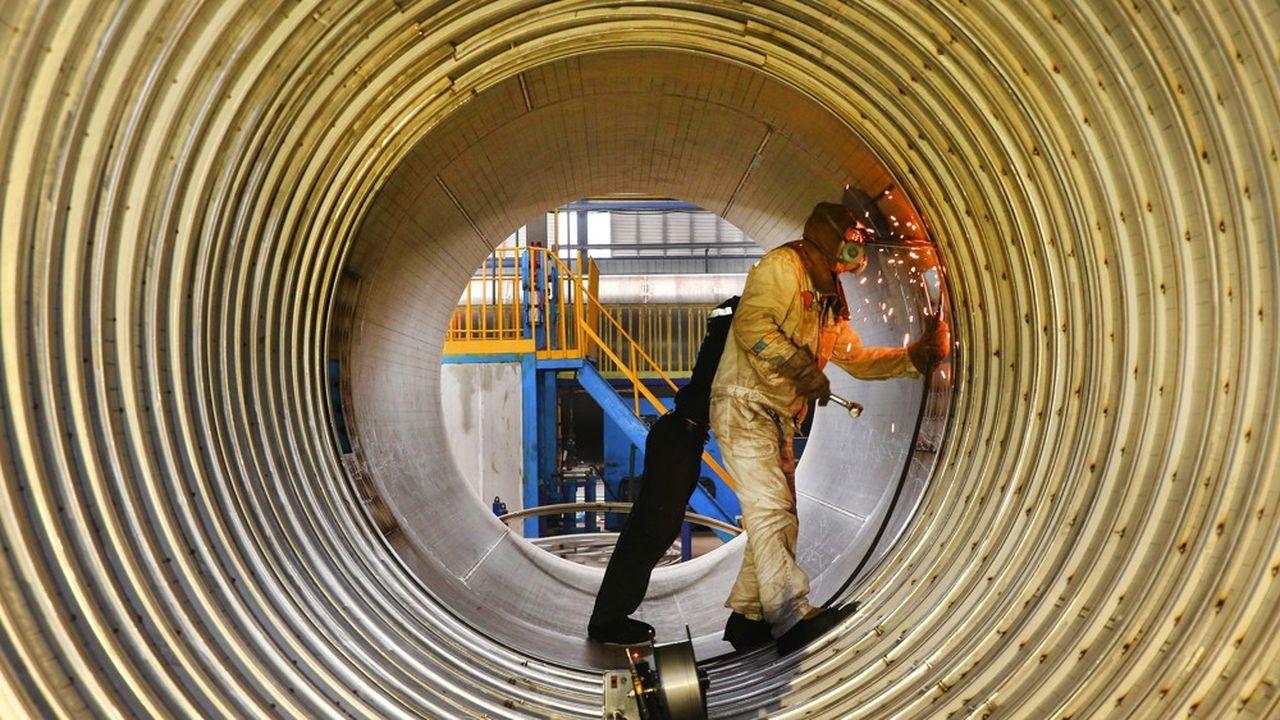 Les pays riches, exceptés les Etats-Unis, ont été particulièrement touchés par un recul de leur production industrielle note le FMI dans ses nouvelles prévisions de croissance.
