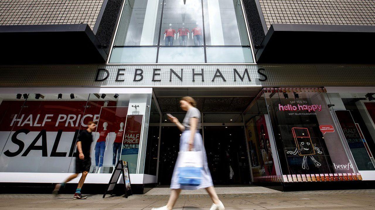 Debenhams compte 165 magasins et 25.000 employés au Royaume-Uni.