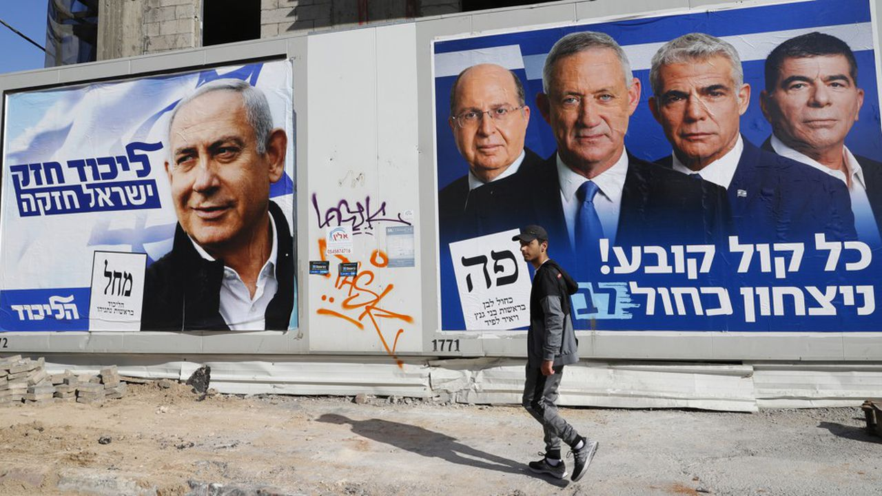 La campagne a été acrimonieuse entre Bibi Netanyahu et Benny Gantz.
