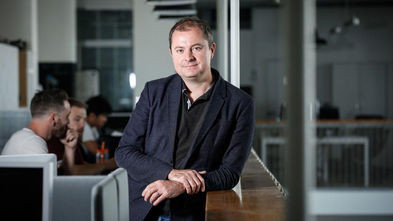 Antoine Jouteau, directeur général de Leboncoin et membre du comité exécutif d'Adevinta, qui regroupe des plates-formes digitales d'annonces entre particuliers implantées dans 16pays, en Europe, en Amérique Latine et en Afrique du Nord.
