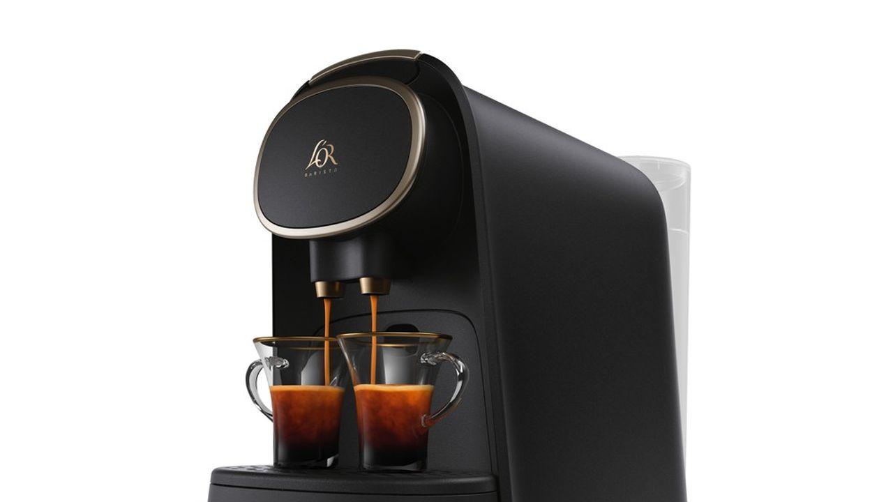 L'Or Barista permet de faire deux cafés en même temps et propose deux tailles de capsules, trois longueurs de café et l'équivalent du café filtre.