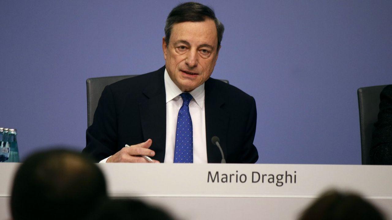 Mario Draghi avait nourri l'espoir des banques européennes quant à un assouplissement des taux négatifs