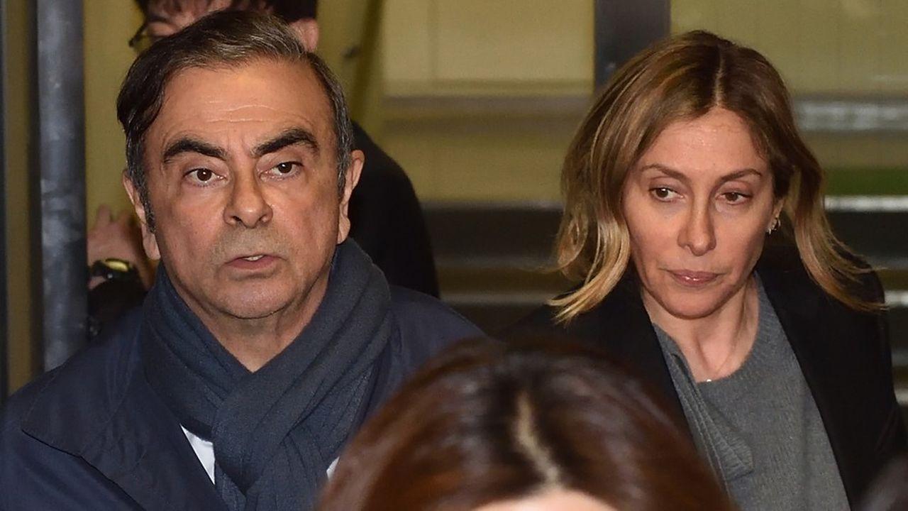 Carole Ghosn a décidé de revenir au Japon pour répondre aux questions du procureur de Tokyo, pour ne pas porter préjudice à son mari.