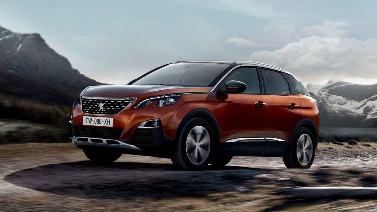 le Peugeot 3008 conserve sa deuxième place dans les ventes aux entreprises.