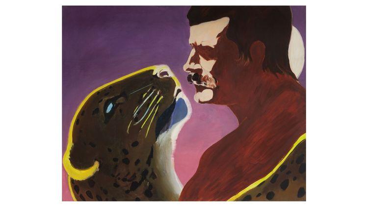«Une passion dans le désert», donation de 2018 de treize panneaux de Gilles Aillaud, Eduardo Arroyo, Antonio Recalcati.
