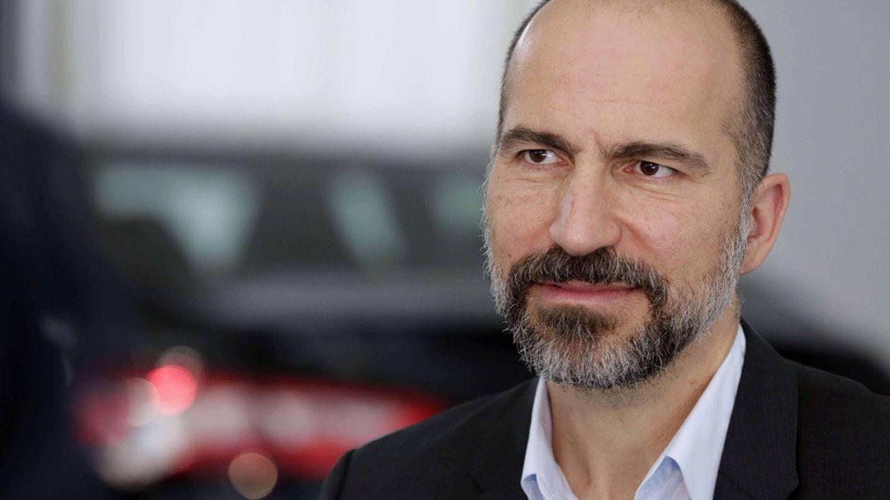 Natif de Téhéran, l'homme d'affaires américano-iranien Dara Khosrowshahi, n'a aucun mal à adopter une communication policée quand le fondateur d'Uber, Travis Kalanick, jouait volontiers le «bad guy».