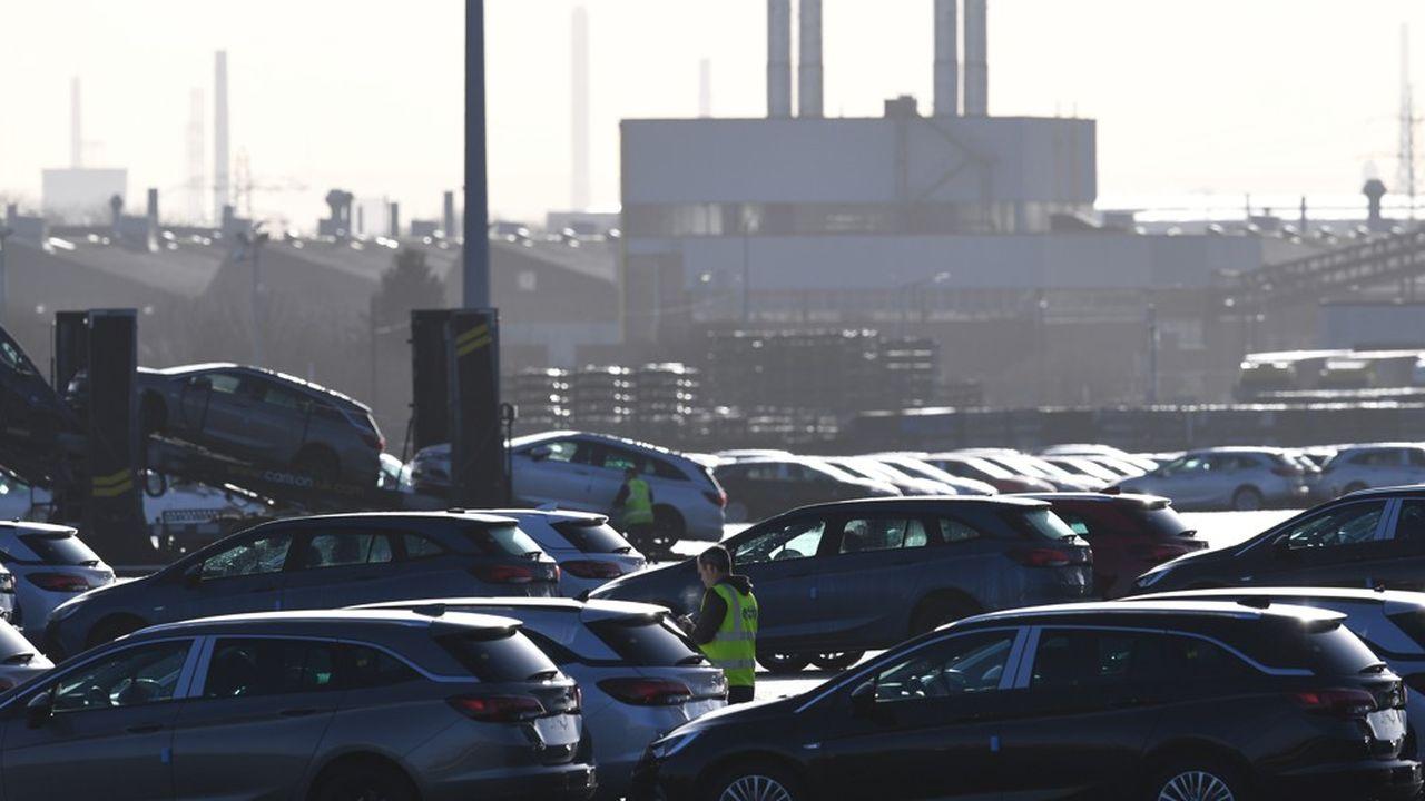 A l'usine Vauxhall d'Ellsmere Port, propriété de PSA, la direction a mis les salariés en vacances pour deux semaines en prévision du Brexit… qui n'a finalement pas eu lieu.