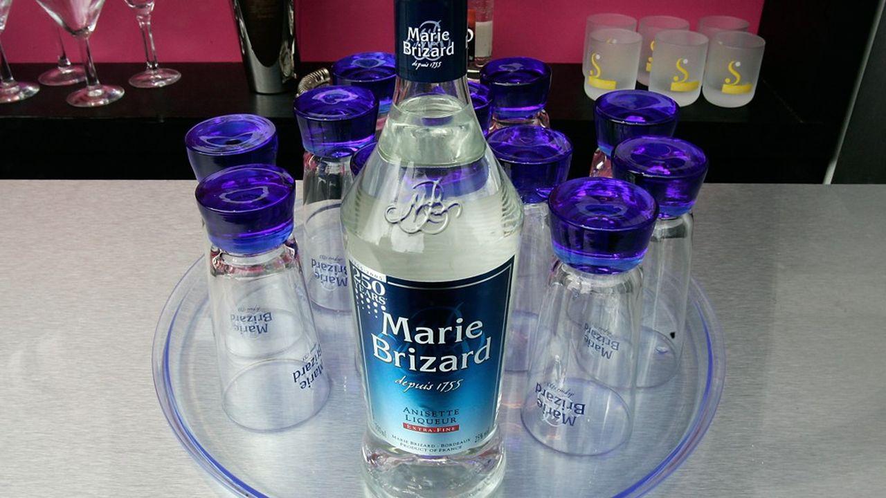 Le fabricant de spiritueux Marie Brizard connaît des difficultés dans ses trois grands marchés, France, Pologne et Etats-Unis.