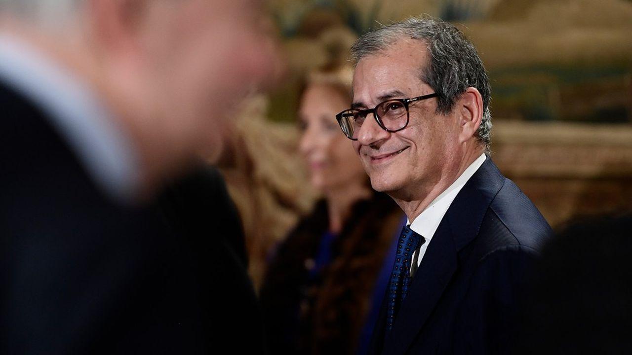 Giovanni Tria, ministre de l'Economie italien.