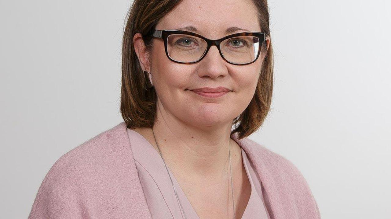 Saana Siekkinen, directrice en charge du marché du travail au syndicat de la SAK, une confédération de cols bleus publics et privés en Finlande.