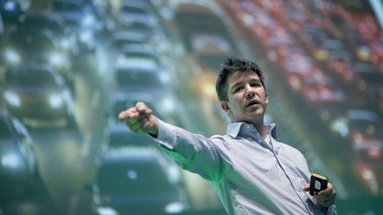 Travis Kalanick, devenu PDG d'Uber en octobre2010, a emprunté l'idée d'une application mettant en relation des chauffeurs non-professionnels avec des clients passagers à son concurrent Lyft, qui l'avait expérimenté avec succès au cours de l'année précédente. Mais il réussit rapidement à doubler son rival en adoptant une stratégie de développement très agressive.