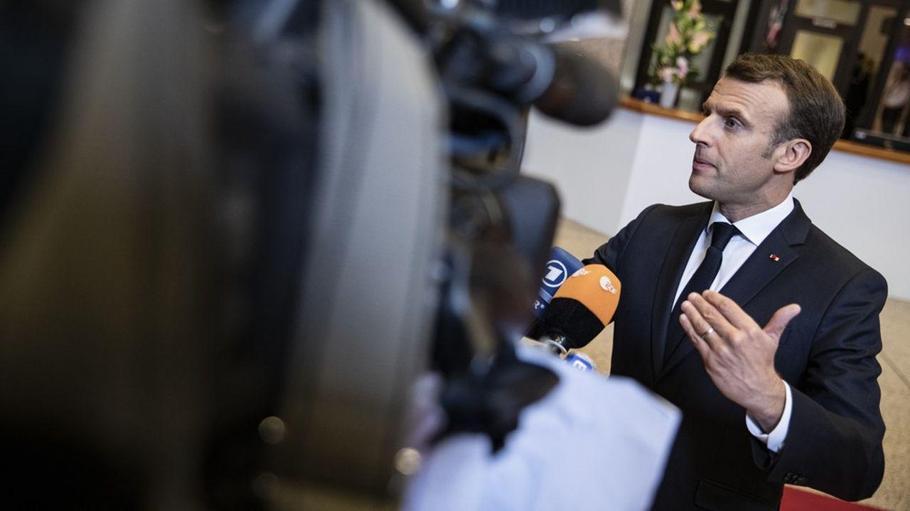 A la sortie du sommet européen, le président français a tenté d'expliquer les raisons pour lesquelles il avait tenu, presque seul contre tous, une ligne de fermeté.