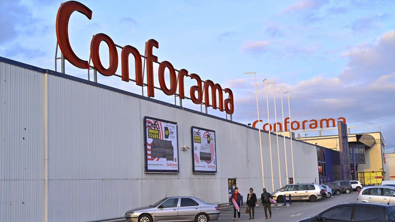 Une enveloppe de 316millions d'euros permettra la poursuite de l'activité de Conforama.