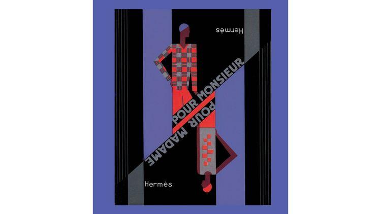 Illustration catalogue Hermès 1928 Collection Draeger