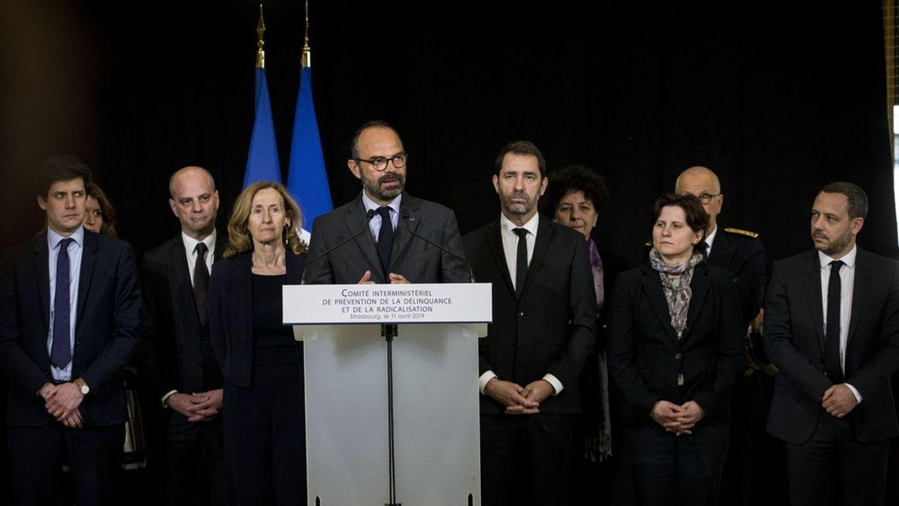 Le Premier ministre Edouard Philippe et huit ministres ou secrétaires d'Etat du gouvernement se sont rendus à Strasbourg.