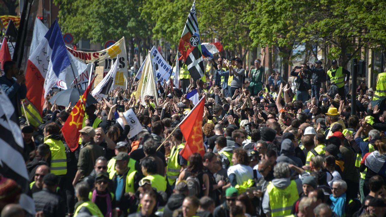 Toulouse est l'un des principaux foyers de contestation depuis le début de la crise des «gilets jaunes»